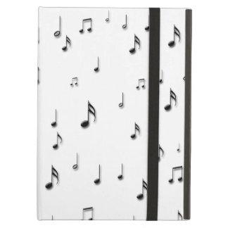 Capa Para iPad Air Notas musicais