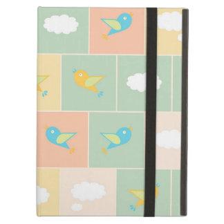 Capa Para iPad Air Nuvens e pássaros