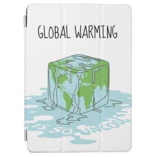 Capa Para iPad Air O aquecimento global é tão Uncool