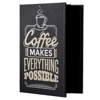 Capa Para iPad Air O café faz a tudo o design possível