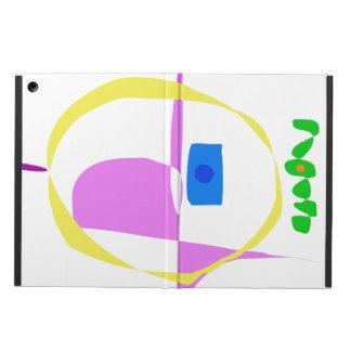 Capa Para iPad Air O círculo amarelo