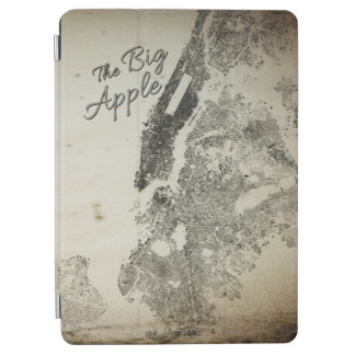 Capa Para iPad Air O cobrir grande do design do vintage das ruas de