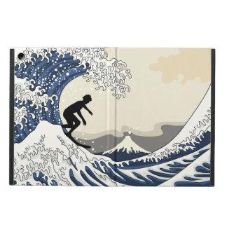 Capa Para iPad Air O grande surfista de Kanagawa