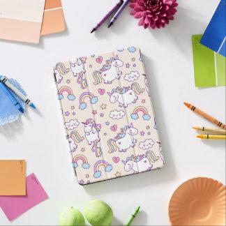Capa Para iPad Air O iPad bonito & colorido dos arcos-íris e do