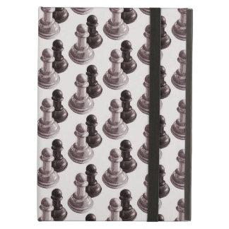 Capa Para iPad Air O lápis tirado penhora a xadrez do teste padrão