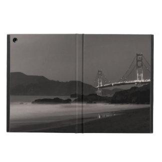 Capa Para iPad Air O relógio de noite no Golden Gate