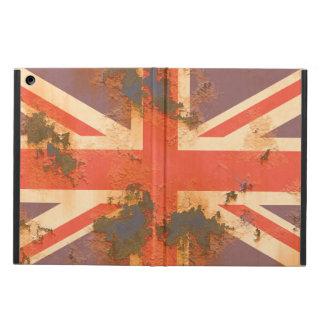 Capa Para iPad Air O vintage oxidou bandeira de Reino Unido