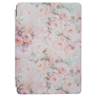 Capa Para iPad Air O vintage romântico cora rosas elegantes da