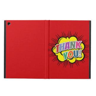 Capa Para iPad Air Obrigado
