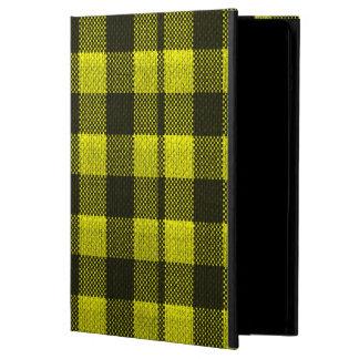 Capa Para iPad Air Olhar Checkered de serapilheira do teste padrão do