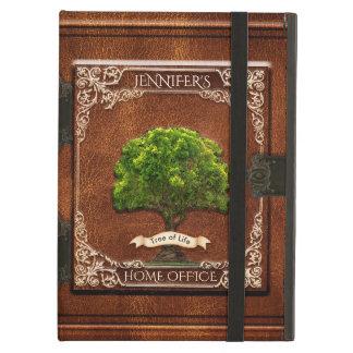 Capa Para iPad Air Olhar de couro velho do livro da antiguidade feita