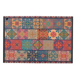 Capa Para iPad Air Ornamento de talavera do mosaico do vintage