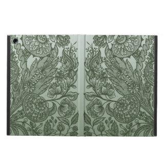 Capa Para iPad Air ornaments o verde de musgo