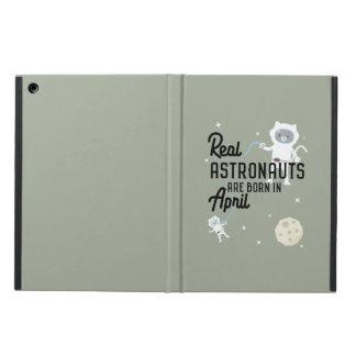 Capa Para iPad Air Os astronautas são em abril Zg6v6 nascidos