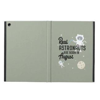 Capa Para iPad Air Os astronautas são em agosto Ztw1w nascidos