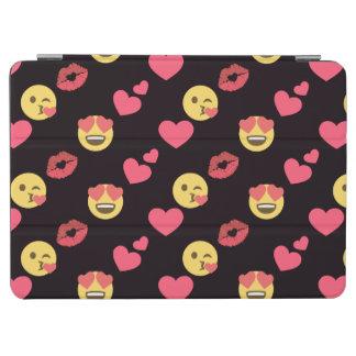 Capa Para iPad Air os corações doces bonitos do amor do emoji beijam