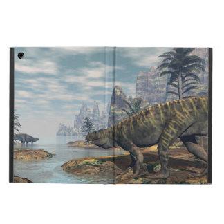 Capa Para iPad Air Os dinossauros -3D de Batrachotomus rendem