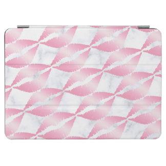 Capa Para iPad Air os lábios cor-de-rosa femininos elegantes do ouro