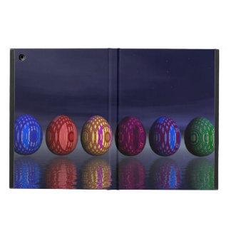 Capa Para iPad Air Ovos coloridos para a páscoa - 3D rendem