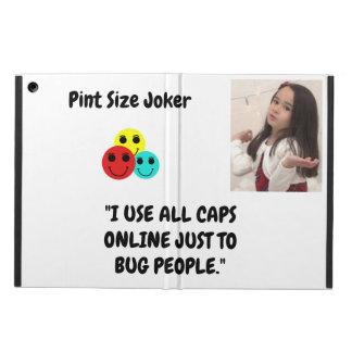 Capa Para iPad Air Palhaço do tamanho da pinta: Use todos os bonés