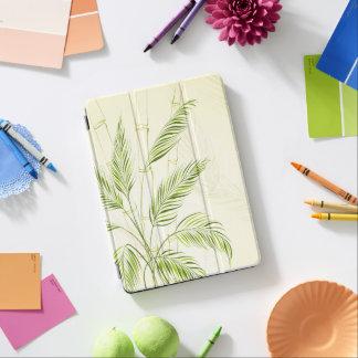 Capa Para iPad Air Palmeiras na caixa de bambu do ar da floresta |
