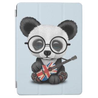 Capa Para iPad Air Panda do bebê que joga a guitarra britânica da