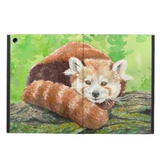 Capa Para iPad Air Panda vermelha