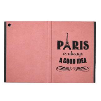 Capa Para iPad Air Paris é sempre uma boa ideia