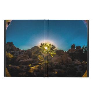 Capa Para iPad Air Parque de Joshua TreeNational do nascer do sol