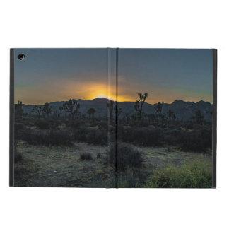 Capa Para iPad Air Parque nacional de árvore de Joshua do nascer do