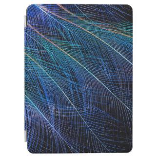 Capa Para iPad Air Pássaro azul do abstrato da pena do paraíso