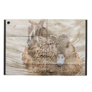 Capa Para iPad Air Pato selvagem da lagoa primitiva do país do