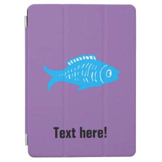 Capa Para iPad Air Peixes azuis