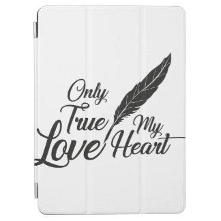 Capa Para iPad Air Pena verdadeira do amor da ilustração