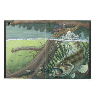 Capa Para iPad Air Pesca da perda Largemouth