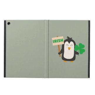 Capa Para iPad Air Pinguim irlandês com trevo Zjib4