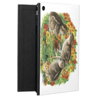 Capa Para iPad Air Pintinhos do jardim da codorniz