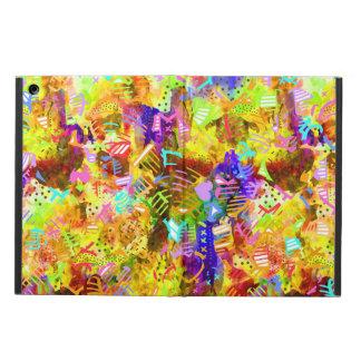 Capa Para iPad Air Pintura abstrata colorida bonito