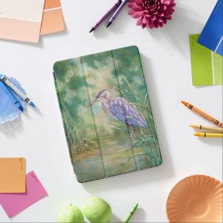 """Capa Para iPad Air Pintura Pastel da garça-real azul da """"solidão"""" -"""