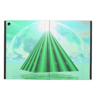 Capa Para iPad Air Pirâmide Mystical - 3D rendem