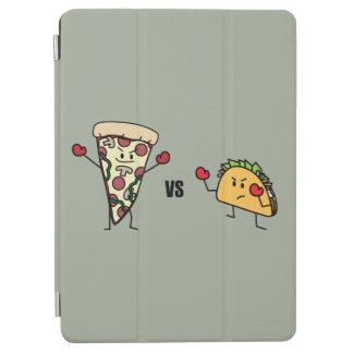 Capa Para iPad Air Pizza de Pepperoni CONTRA o Taco: Mexicano contra
