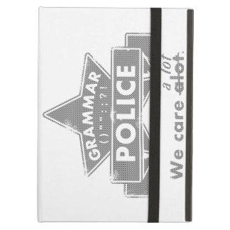 Capa Para iPad Air Polícia da gramática