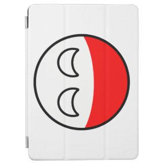 Capa Para iPad Air Polônia Geeky de tensão engraçado Countryball