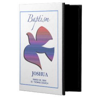 Capa Para iPad Air Pomba customizável, adulta do baptismo