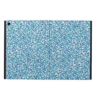 Capa Para iPad Air Pontos azuis