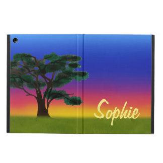 Capa Para iPad Air Por do sol do savana pelos Feliz Juul Empresa