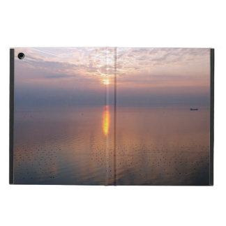 Capa Para iPad Air Por do sol sobre o mar