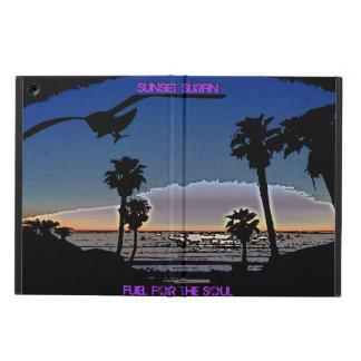 Capa Para iPad Air Por do sol Surfin - combustível para a alma
