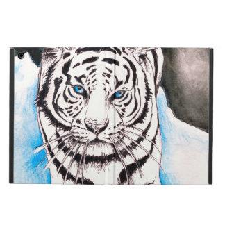 Capa Para iPad Air Porca branca do tigre Siberian