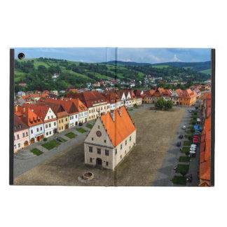 Capa Para iPad Air Praça da cidade velha em Bardejov, Slovakia